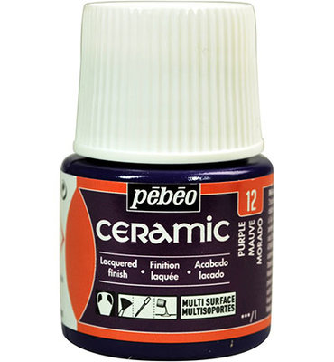 Pebeo Ceramic Purple 45 ml