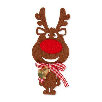 Rudolf, Donker Bruin met bel,  2 stuks per zakje