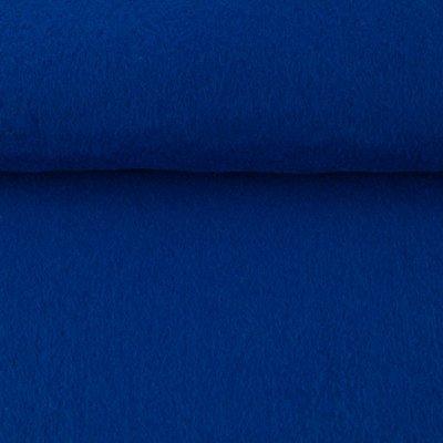 Vilt kobalt blauw 1,5 mm dik 90 cm breed per meter
