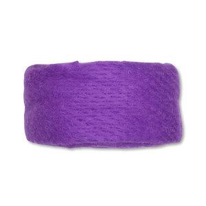 Wolband 7 cm breed lila