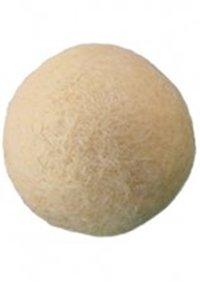 Viltballen huidskleur 25 mm doorsnee 5 stuks per zakje