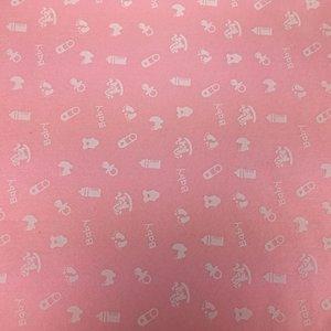 Vilt Print, Baby, Roze
