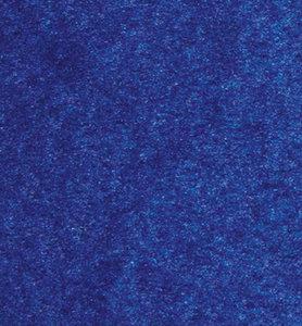 Plakvilt ca. 43 cm breed x 120 cm lengte, Blauw