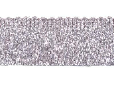 Franje band grijs 30 mm breed, per meter
