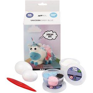 Funny friends unicorn baby blue