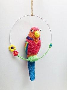 D.I.Y pakket papegaai in ring