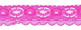 Kant fel roze 17 mm breed