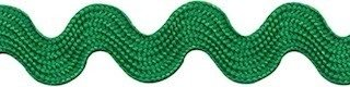 Zig zag band 10 mm breed groen per meter