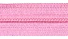 Rits roze per meter