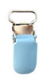 Speen clip licht blauw 10 mm smal