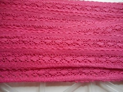 Kant fuchsia 20 mm breed per meter