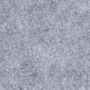 Budget vilt grijs gemeleerd 45 cm breed prijs per meter
