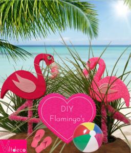 DIY Duo pakket Flamingo