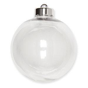 DIY Kerstballen, 10 cm, 4 st. per verpakking