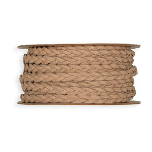 Leather Look Ribbon, Naturel