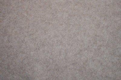 Vilt lapje gemeleerd zand 20 x 30 cm 1,5 mm dik per lapje