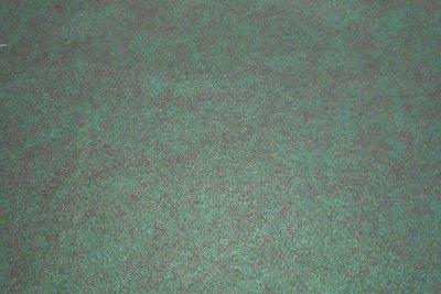 Vilt lapje gemeleerd mosgroen 20 x 30 cm 1,5 mm dik per lapje