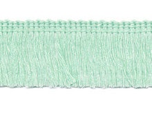 Franje band mint groen 30 mm breed, per meter