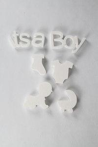 "Geboorte slinger ''Its a Boy"""