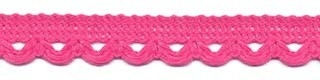 Lusjesband roze 12 mm breed per meter