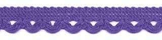 Lusjesband paars 12 mm breed per meter