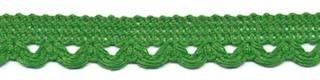 Lusjesband flessen groen 12 mm breed per meter