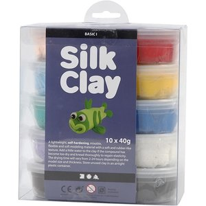 Silk clay pakket basic 1