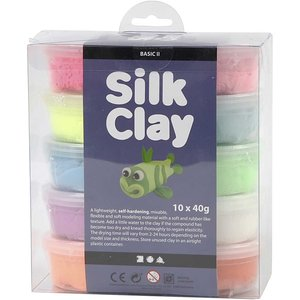 Silk clay pakket basic 2